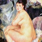 Anna woman female canvas art print by Pierre-Auguste Renoir