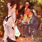 Moulin de la Galette mill de la Galette genre canvas art print by Pierre-Auguste Renoir
