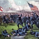 Corinth Battle 4 October 1862 Civil War art print by Currier & Ives