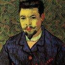 Portrait of Doctor Felix Rey man canvas art print by Vincent van Gogh