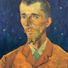 Portrait of Eugene Boch man canvas art print by Vincent van Gogh