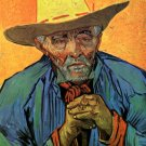 Portrait of Patience Escalier man canvas art print by Vincent van Gogh