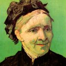 Portrait of the Artist's Mother woman canvas art print by Vincent van Gogh