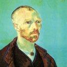 Self Portrait Dedicated to Paul Gauguin man canvas art print by Vincent van Gogh