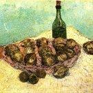 Still Life Bottle Lemons Oranges canvas art print by Vincent van Gogh