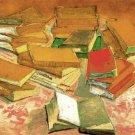 Still Life French Novels canvas art print by Vincent van Gogh