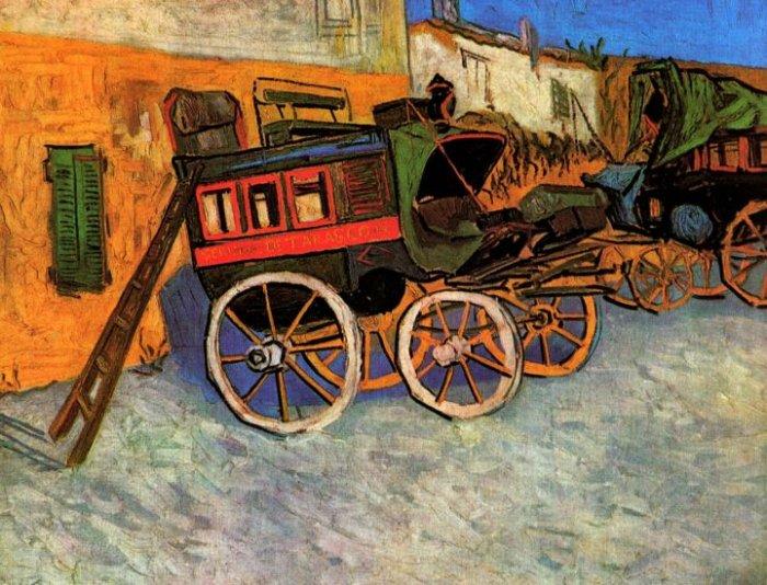 Tarascon Diligence canvas art print by Vincent van Gogh
