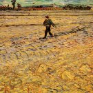 The Sower man landscape canvas art print by Vincent van Gogh