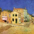 Vincent's House in Arles cityscape canvas art print by Vincent van Gogh