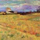 Wheat Field landscape canvas art print by Vincent van Gogh