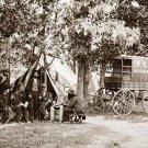 Wagon of the New York Herald Civil War canvas art print by O'Sullivan