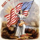 Glorious Banner Flag Civil War canvas art print by Gibson & Co