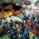 Vicksburg Siege Mississippi Civil War canvas art print Currier & Ives