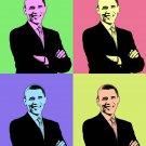 Barack Obama Pop Art canvas print American US President