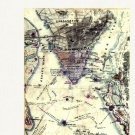 Rebel Defenses Charleston South Carolina 1864 Civil War map by Sneden