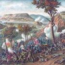 Missionary Ridge Battle 1863 Civil War canvas art print Kurz & Allison