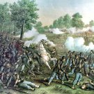 Wilson Creek Oak Hill battle Civil War canvas art print Kurz Allison