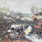 Shiloh Battle Pittsburg Land. Civil War canvas art print Kurz Allison