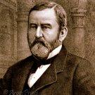 General Ulysses S. Grant portrait Civil War art drawing print 1885 by Currier & Ives