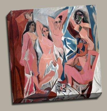 Cubism The Ladies of Avignon Gallery Wrap canvas art print Picasso