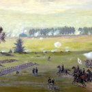 Gettysburg Battle 1863 Civil War canvas art print by Edwin Forbes