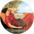 In Realms of Fancy 1911 woman canvas art print by John William Godward