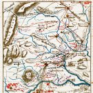 Union Army Retreat from Culpeper to Warrenton 1863 Civil War map by Sneden
