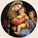 Madonna della Sedia or The Madonna seggiola fine art print Raphael