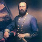 General Thomas Stonewall Jackson Civil War fine art print by Browne