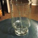 Etched Glass Drink Mixer Pitcher Glass Stir #300081