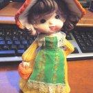 Vintage Little Girl 1800s Bank Figurine #300094