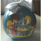 1995 Christmas Tree Decoration Precious Moments Nativity Scene by Enesco #300045
