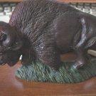 Hand Painted American Buffalo Figurine #300150