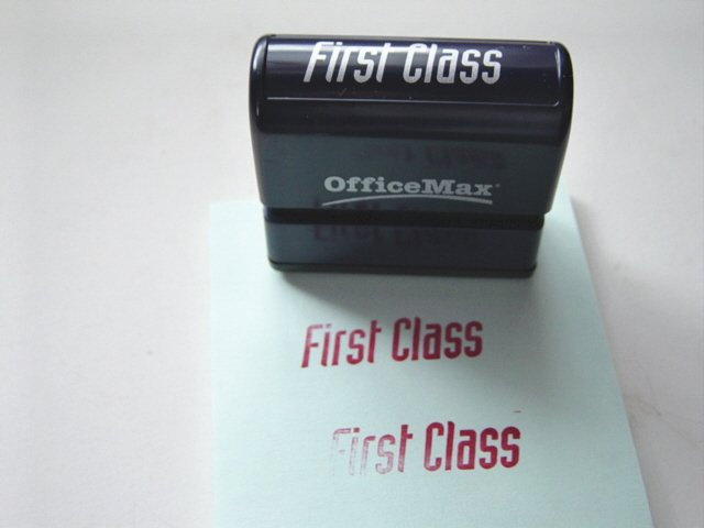 Office Max Stamp-Ever First Class Stamp at Periwinkles #300620