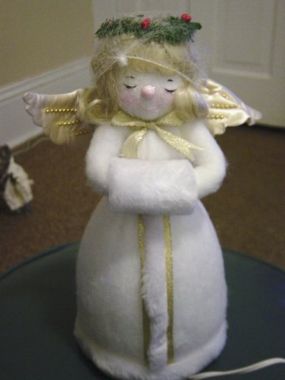 Light Up Blond Christmas Angel at Periwinkles  #300763