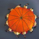Vintage Asian Children Holding the World Pincushion Silk at Periwinkles #300829