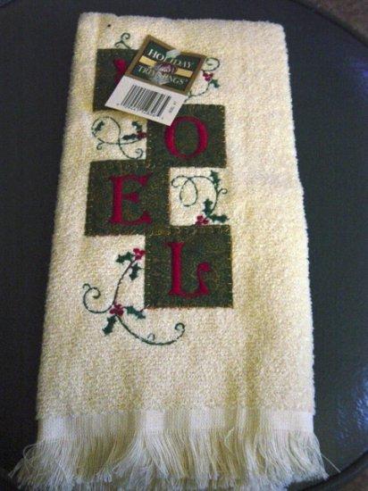 Christmas Holiday Noel Kitchen Tea Towel   #300970