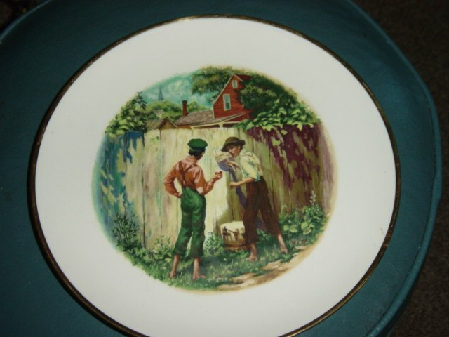 1973 Limited Edition Mark Twain Collector Plate #300974