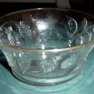 Berry Bowl Berry and Leaf Design Made in France  #300977