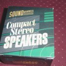Soundynamics Compact Stereo Speakers for CD, Cassette Players or Radio #301061