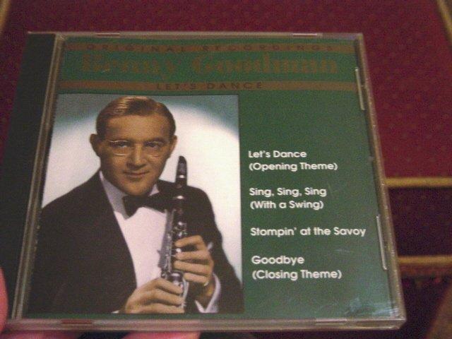 Benny Goodman Let's Dance Big Band Music CD #301137