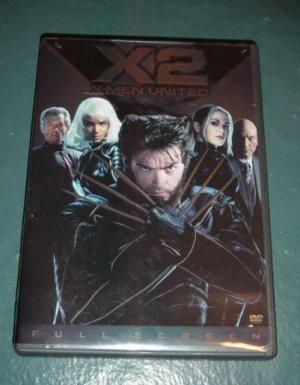 Full Screen Edition X2 - X-Men United DVD    #301196