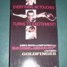 VHS Video Sean Connery as 007 James Bond Goldfinger #301203
