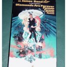 VHS Video Sean Connery as 007 James Bond Diamonds are Forever #301205