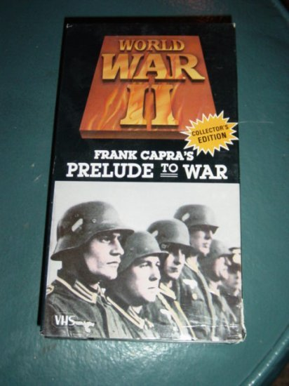goodtimes home vhs video prelude to war by lt col frank home_csc vs csc home vhs