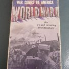VHS War Comes to America WWII by Frank Capra #301212A