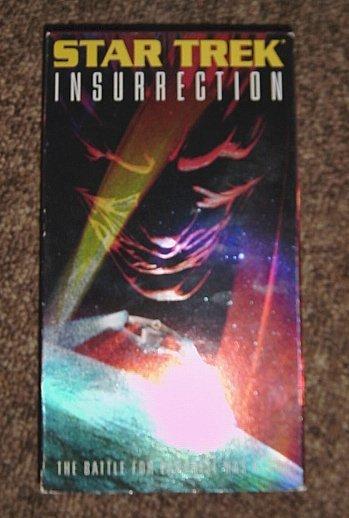 1999 VHS Video Star Trek Insurrection #301213