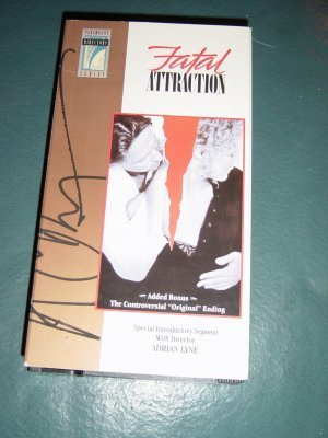 Paramount VHS Video Fatal Attraction  Original Ending  #301218