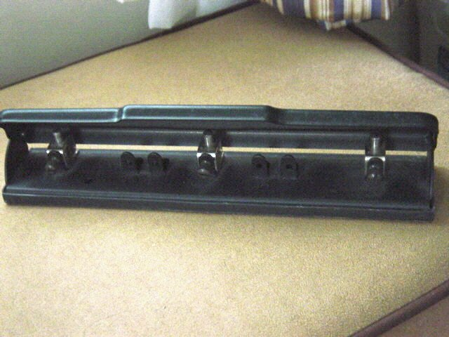 Deluxe Adjustable Two or Three Hole Punch #301288