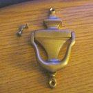 5153 Small Brass Door Knocker   #301439